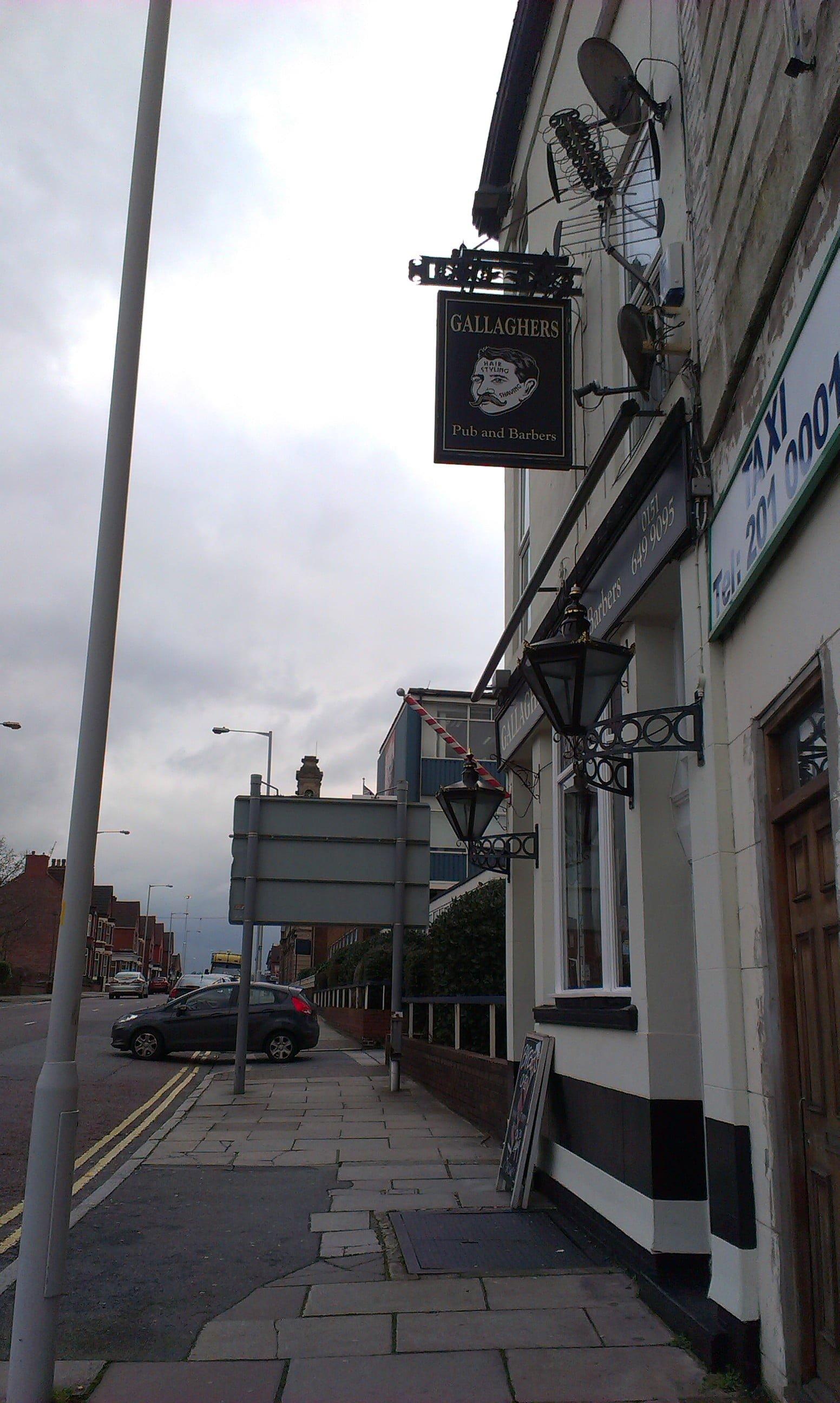 Gallaghers Bar Wirral