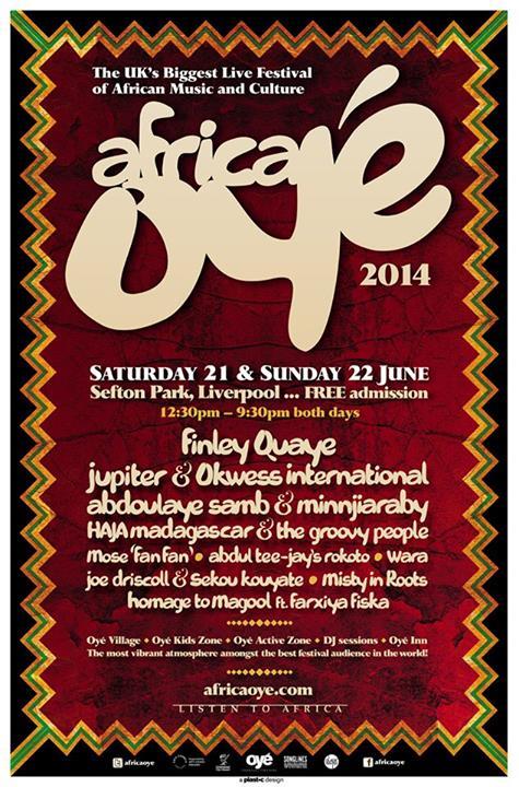 Africa Oye 2014 Liverpool