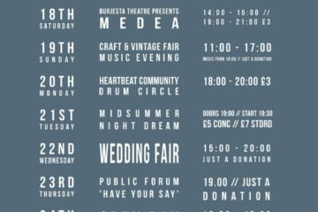 Bombed Out Church Events