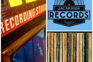 Jacaranda Record Store Collage