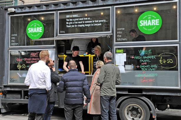'Can Cook' Helps Merseyside Tackle Food Poverty With 'Share Your Lunch' Campaign