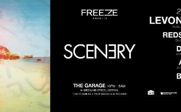 Freeze Pres. 'Scenery' - Liverpool's Brand New Party feat. Levon Vincent, Redshape, DJ TLR & More - 2nd Oct
