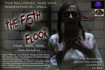 The Fifth Floor; This Halloween, Make Your Reservation ..... In Hell With A Spectacular Halloween Theatrical Dining Experience.