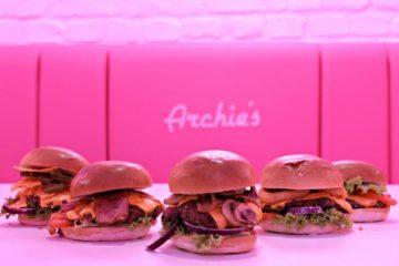 Archie's Burgers & Shakes Unveils New Handmade Smashed Burger Menu
