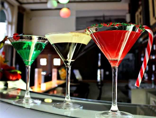Trattoria 51 unveils trio of green white red festive for Cocktail 51