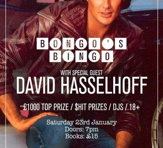 Bongo's Bingo With The Hoff