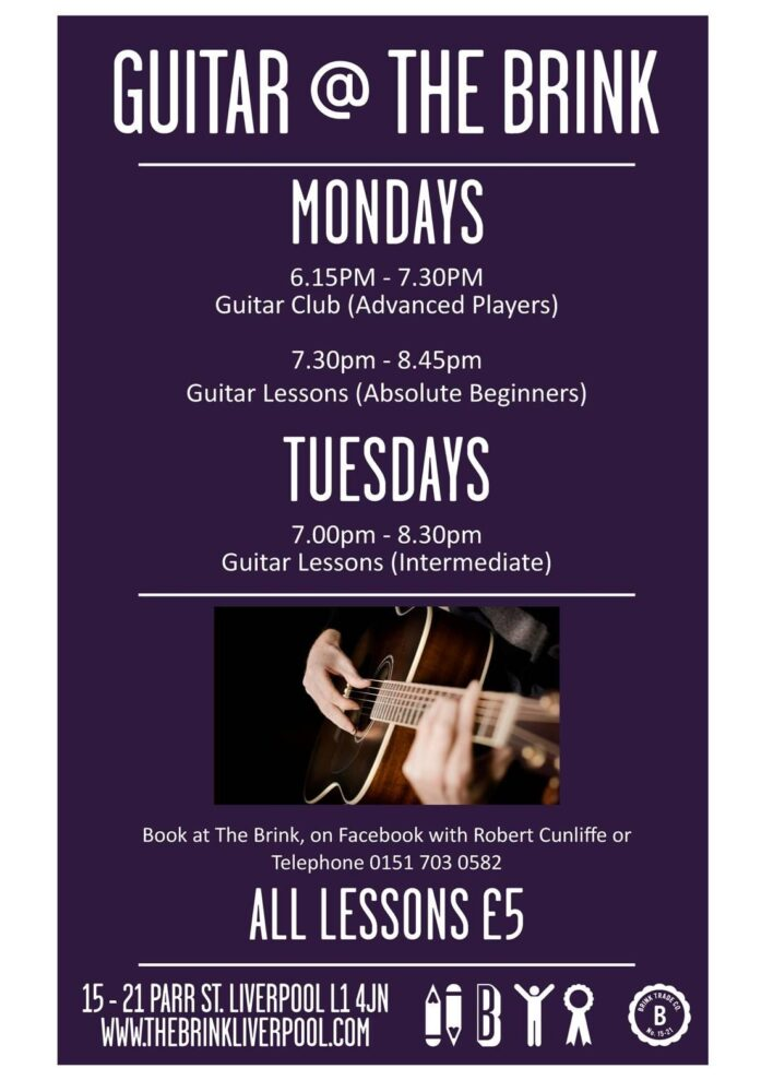 Brink Liverpool Guitar Lessons