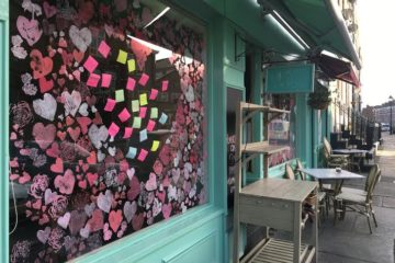 Neighbourhood Eateries In Liverpool Sharing Messages of Love For Valentines Day