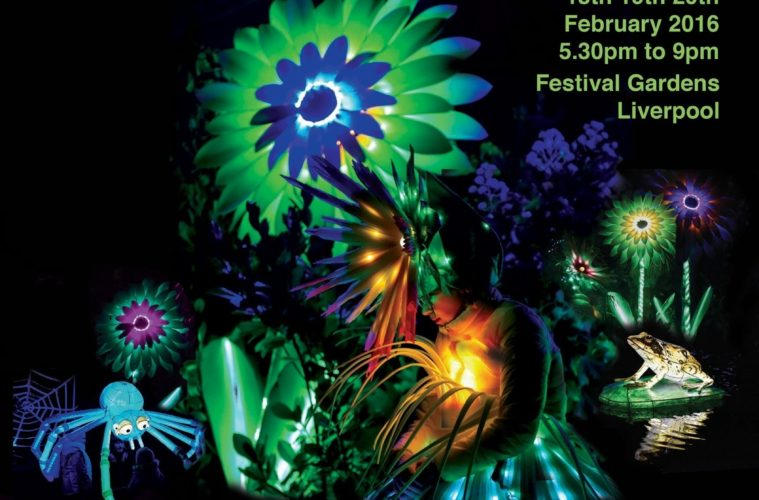 Luminous Landscapes At Festival Gardens 18th-20th February