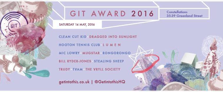 The GIT Award 2016; 14th May At Constellations