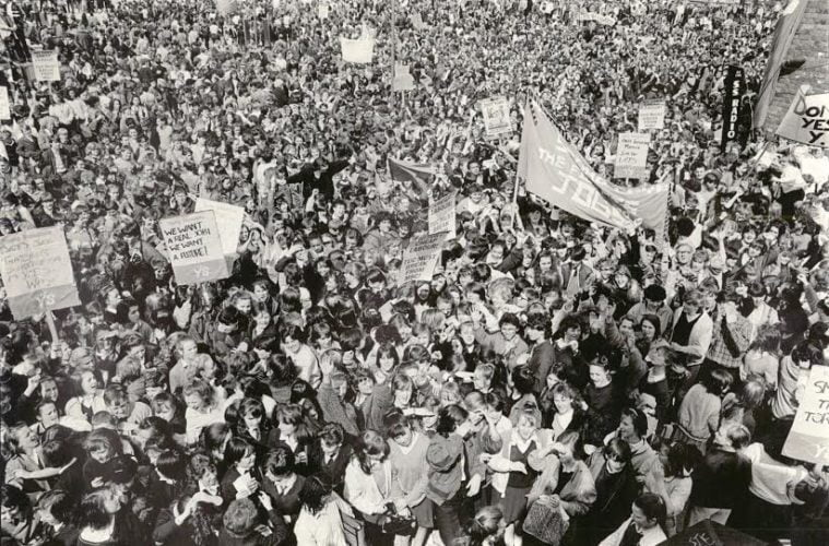 Liverpool Biennial Open Call Out For Participants of The 1985 School Students Strike