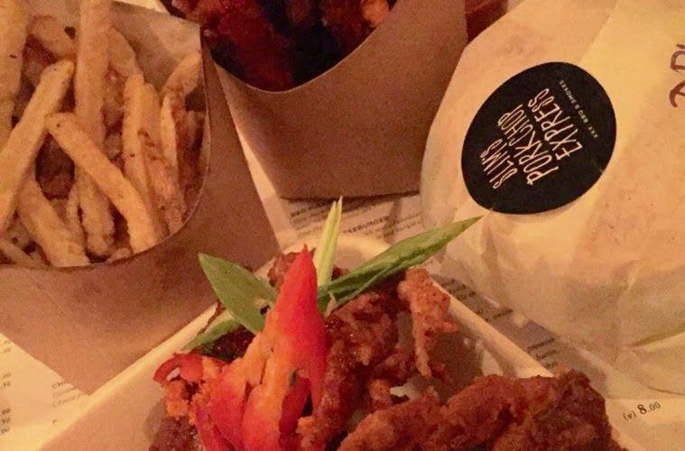 Slim's Pork Chop Express Late Night BBQ; Review 1