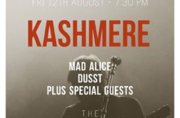 The Music Manual Presents; Kashmere, DUSST & Mad Alice At The Buyers Club 12th August 2