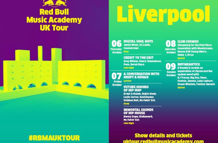 Red Bull Music Academy UK Tour Comes To Liverpool October 2016 1
