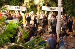 gin party in the palm house liverpool