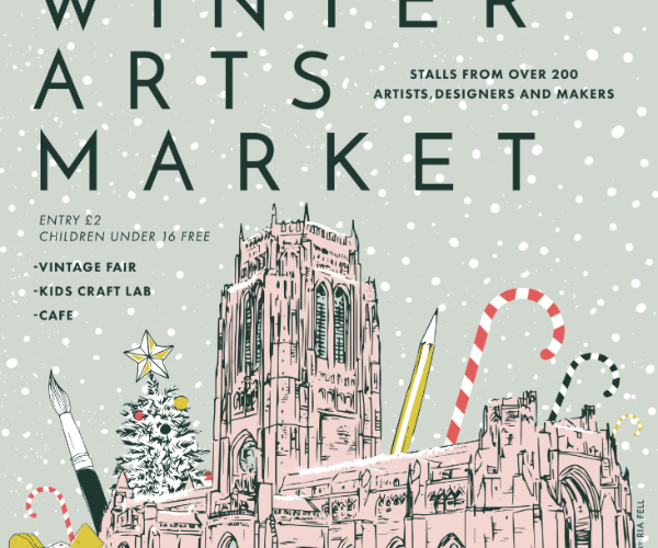 Winter Arts Market held at Liverpool Cathedral