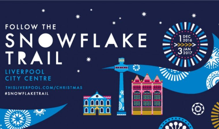 The Snowflake Trail Returns To Liverpool