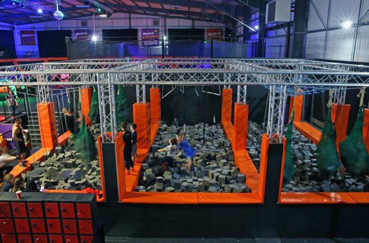 Ninja Warrior UK's 'Last Man Standing' Opens New Obstacle Course At Velocity Trampoline Park 1