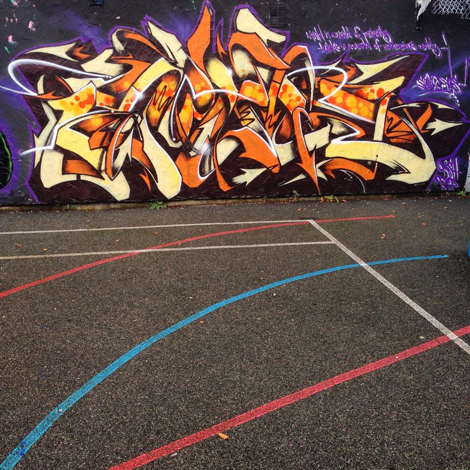 Zap Graffiti Liverpool