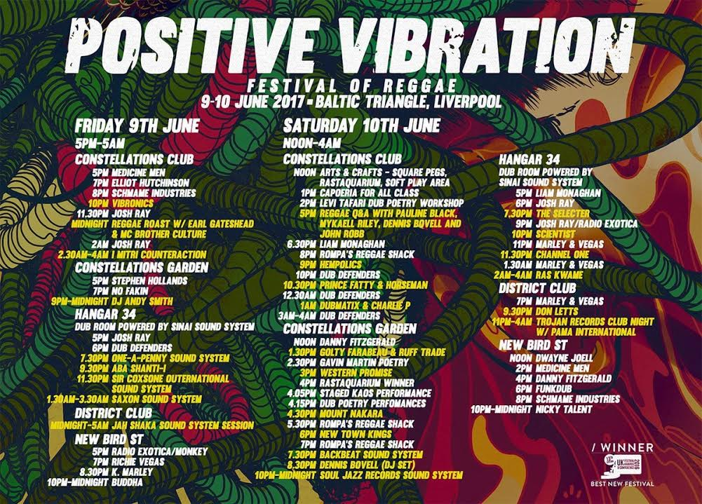 Positive Vibration Festival 2017