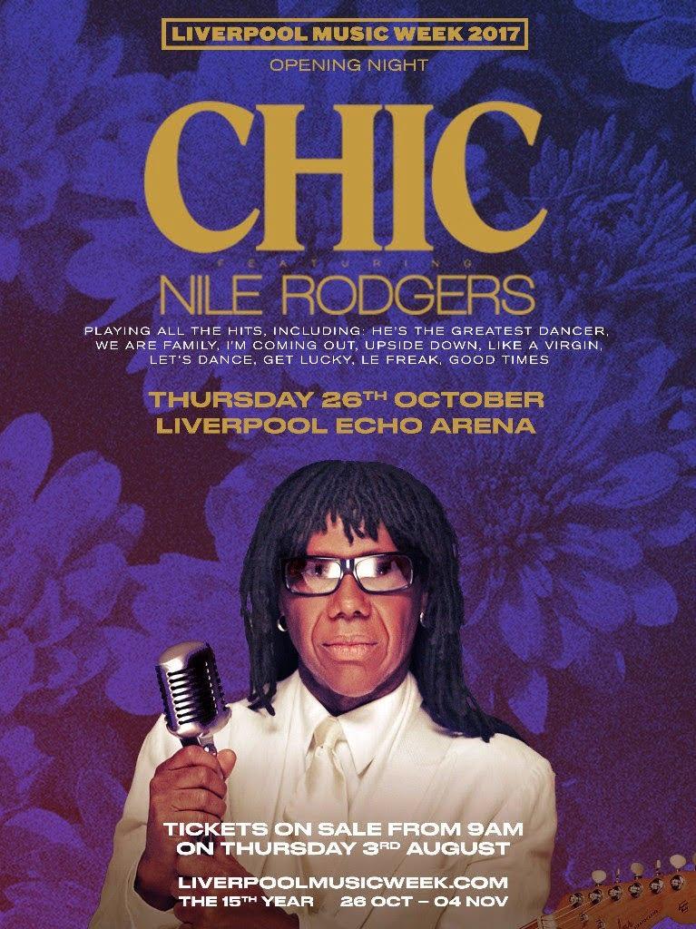 CHIC Liverpool Music Week