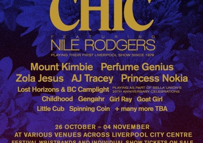CHIC & Nile Rogers Announced As First Headliners For Liverpool Music Week 1