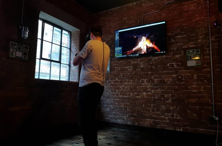 Virtual Reality Gamers Are Bringing Free Experiences To Liverpool Sports & Gaming Bar Boston Pool Loft 1