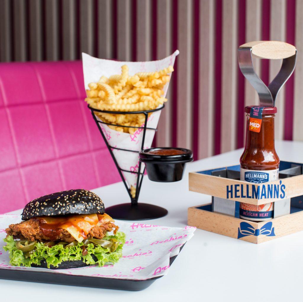 Archie's Hellman's Burger