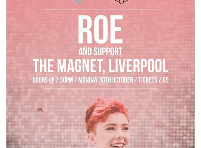 Irish Singer-Songwriter ROE To Play The Magnet 1