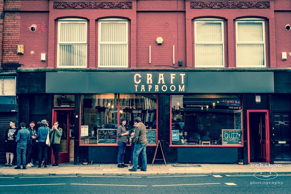 Craft taproom