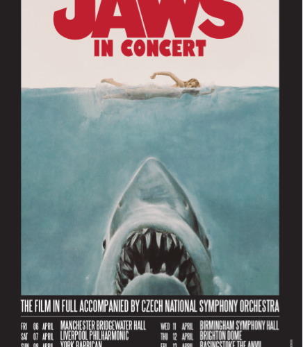 Watch Jaws With A Live Score From Czech National Symphony Orchestra