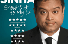 TV Star & Comedian Paul 'The Sinnerman' Sinha Comes To Hot Water Comedy Club