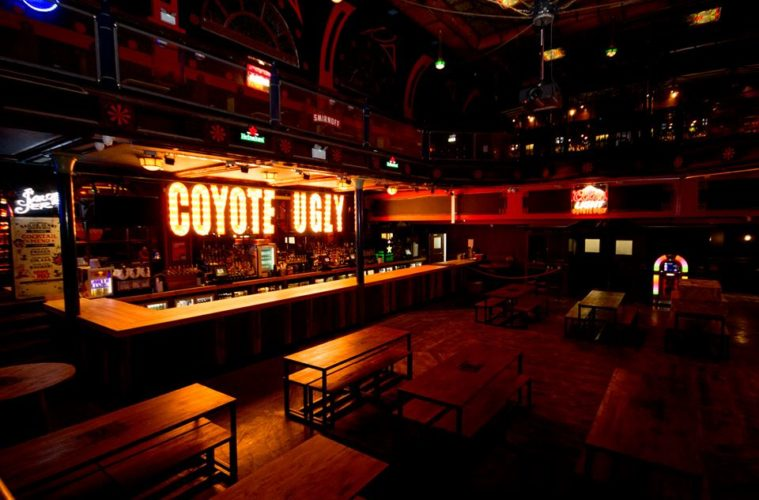 Coyote Ugly Bar Opening In Liverpool