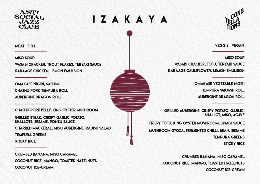 Izakaya at Constellations