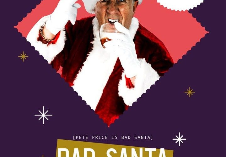 Pete Price is the Bad Santa at Camp & Furnace's grown-up Grotto 1