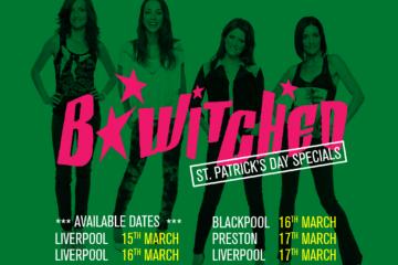 B Witched at Bongo's Bingo - tour dates 2018