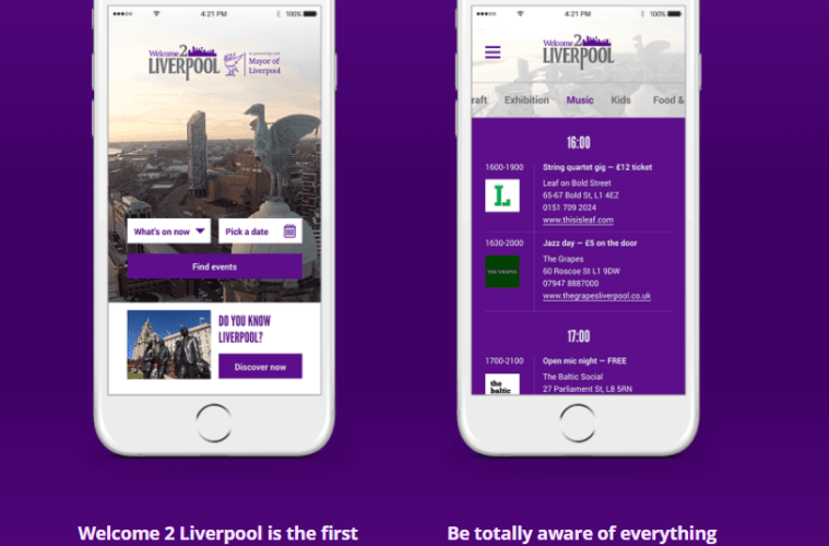 Liverpool Set To Welcome Innovative Real-Time Event Planning App