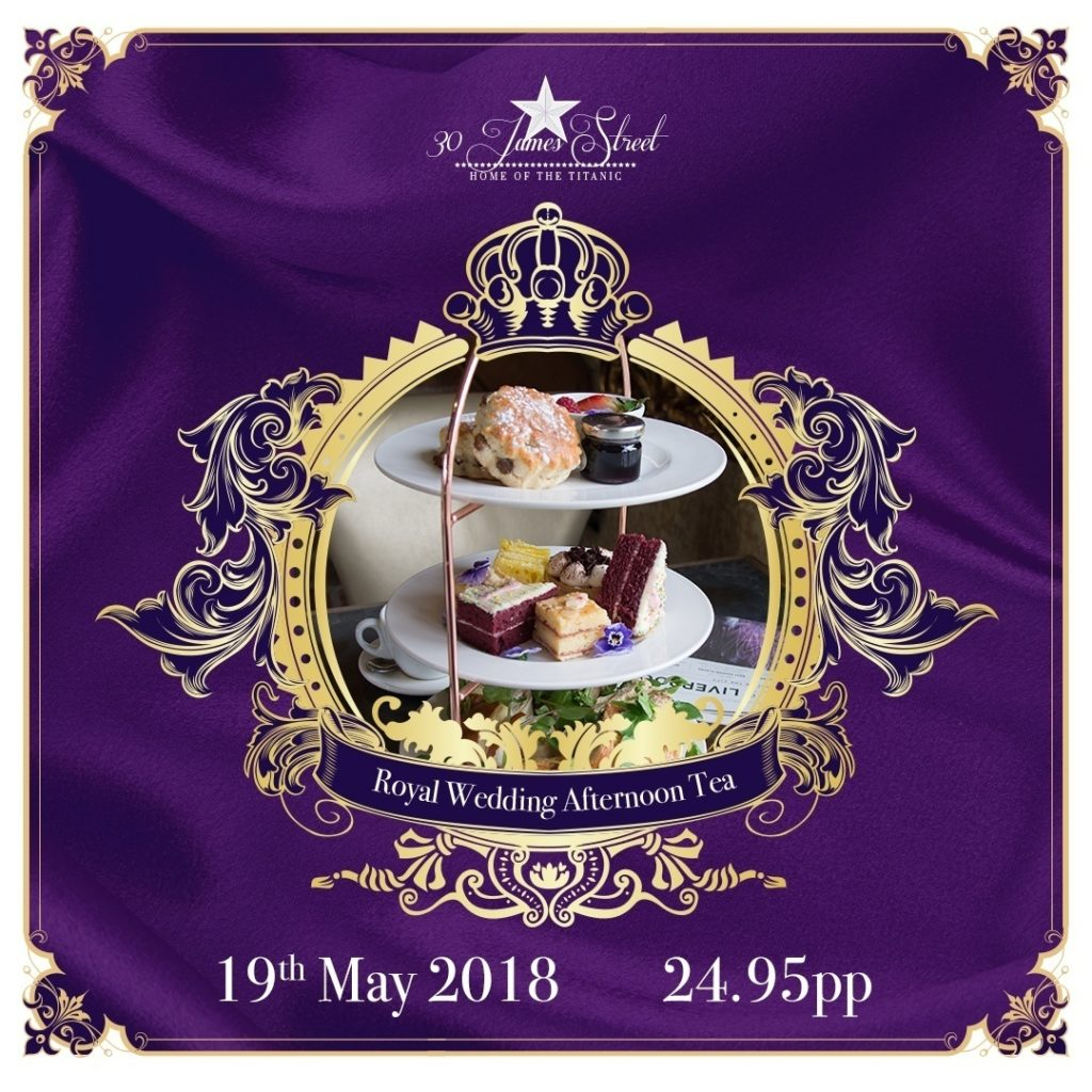 Royal Wedding Afternoon Tea