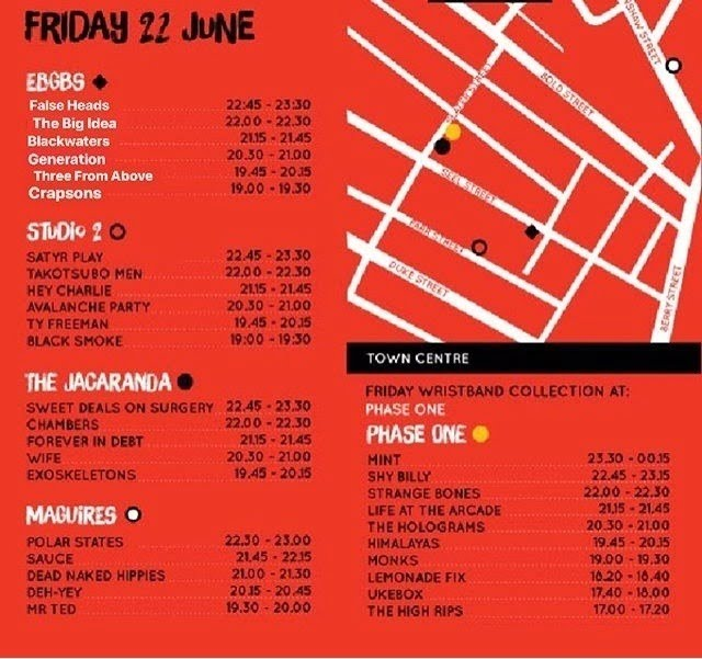 Liverpool Calling Stage Times Friday 2018