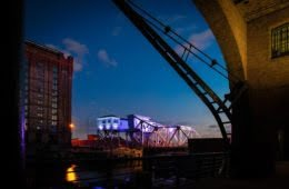 Historic Bascule Bridge Will Light Up Liverpool's Stanley Dock 2