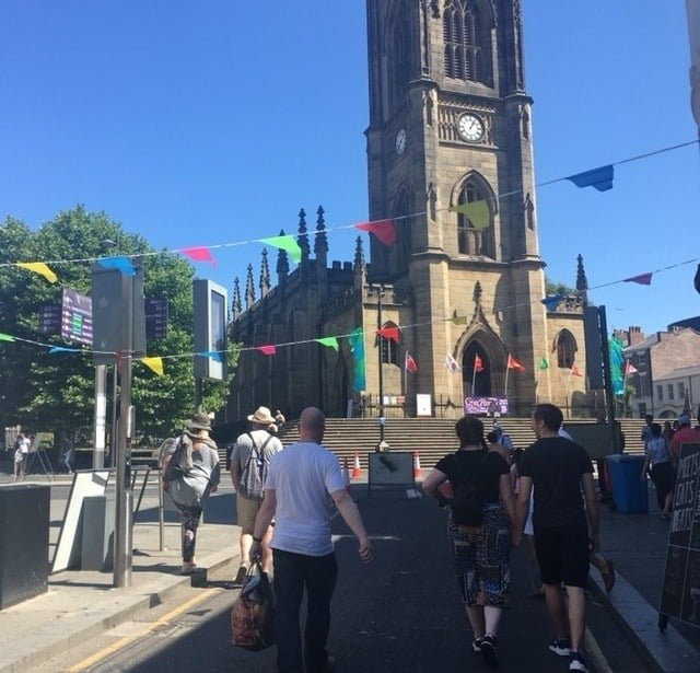 Bold Street bombed out church