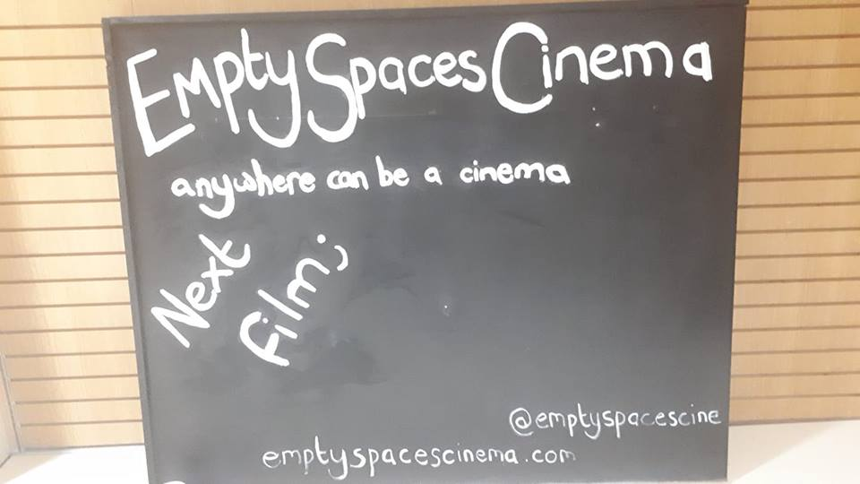 Empty Spaces Cinema Pop Up Liverpool