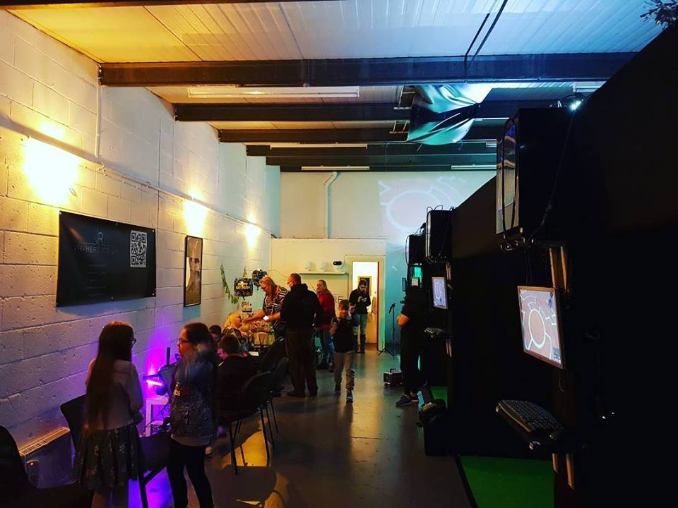 VR Here Virtual Reality Liverpool