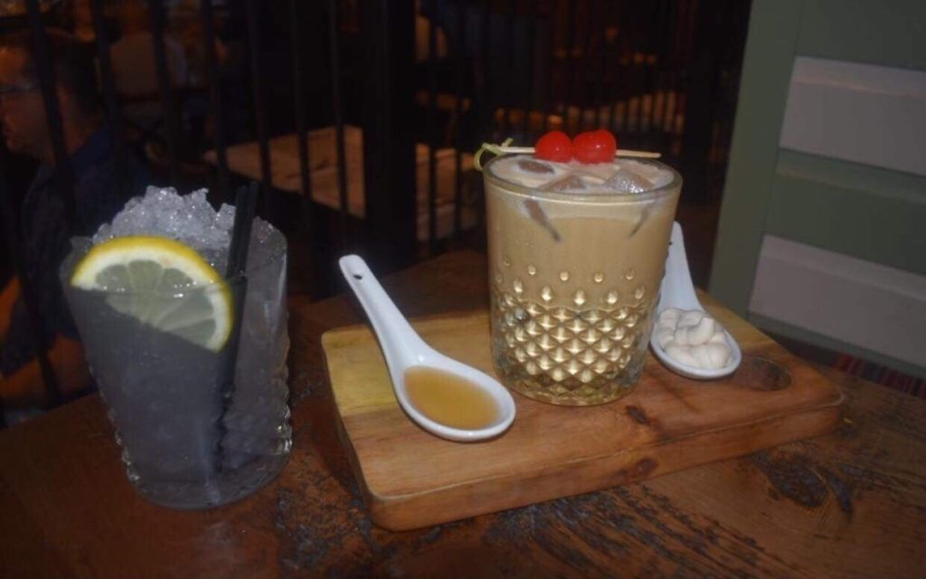 Cocktails at George's Great British Kitchen Liverpool