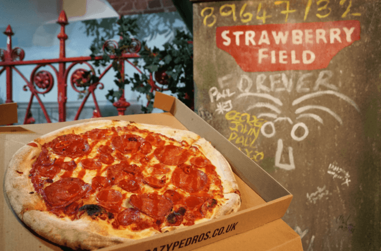 Crazy Pedro's Announces Sgt Pepper Pizza Special To Help Strawberry Fields Regeneration Fund