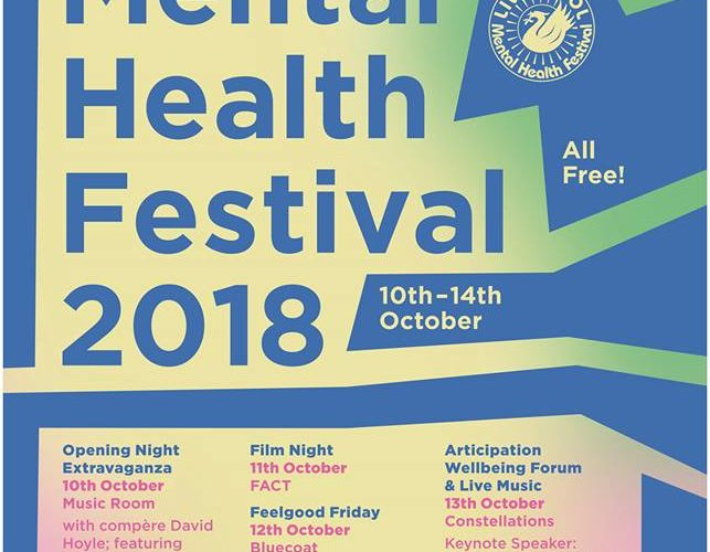 Line-up Revealed For Liverpool Mental Health Festival 1