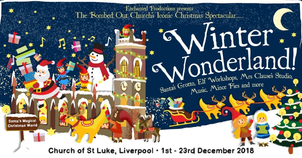 WinterWonderland Liverpool Bombed Out Church