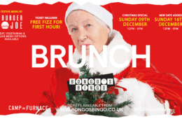 New Xmas Brunch Bongo's Bingo Date Announced