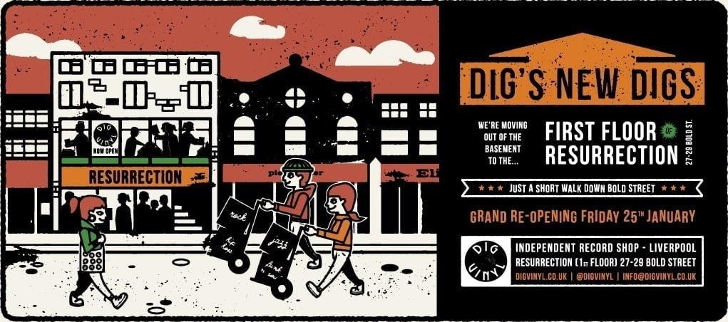 Dig Vinyl Liverpool Record Store