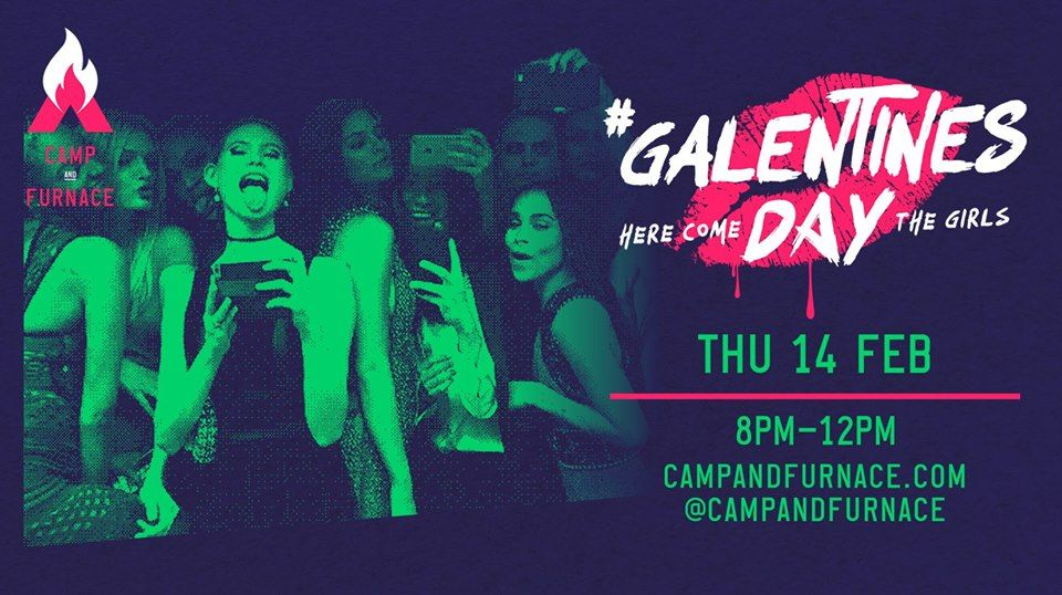 Galentines Day Camp & Furnace Liverpool